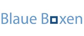 Blaue Boxen