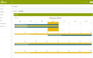 Verleihsoftware Planungskalender_Jobs